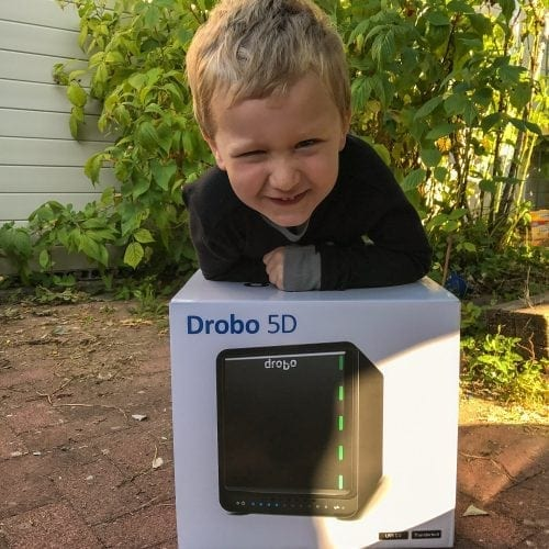 Drobo 5D Direct Attached Storage Review