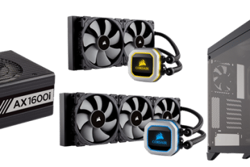 CES 2018 - CORSAIR Launches New PSU, Coolers, Case