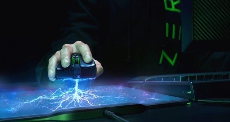 CES 2018 - Razer Mamba HyperFlux Battery-Free Wireless Gaming Mouse