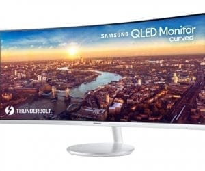 CES 2018: Samsung Unveils CJ791 Thunderbolt 3 QLED Curved Monitor