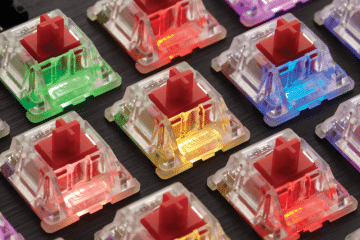 CES 2018 - Cherry Introduces New Low-Profile Mechanical Switches