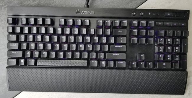 Corsair K70 RGB Mechanical Gaming Keyboard Review