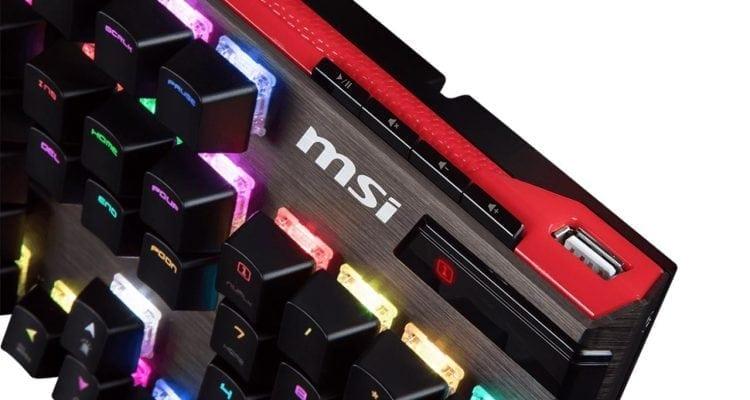 MSI Launches Vigor GK80 and GK70 Gaming Keyboards