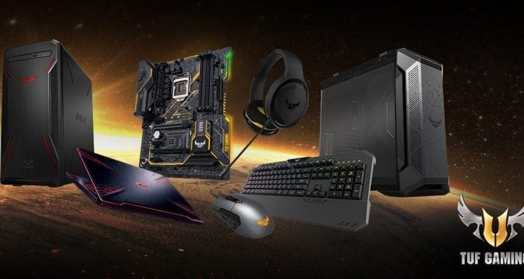 Create an ASUS Gaming Experience with TUF Gaming Products