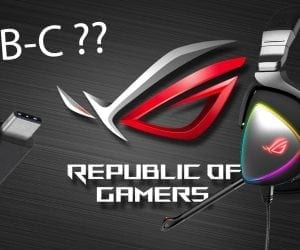 ROG Delta Brings RGB to USB-C Gaming Headsets