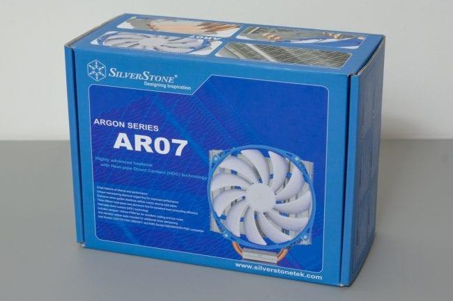SilverStone Argon Series CPU Cooler AR07