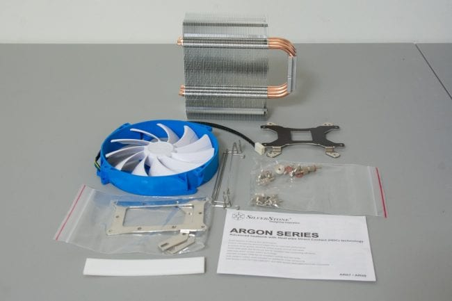 Silverstone Argon Series AR07 - Contents