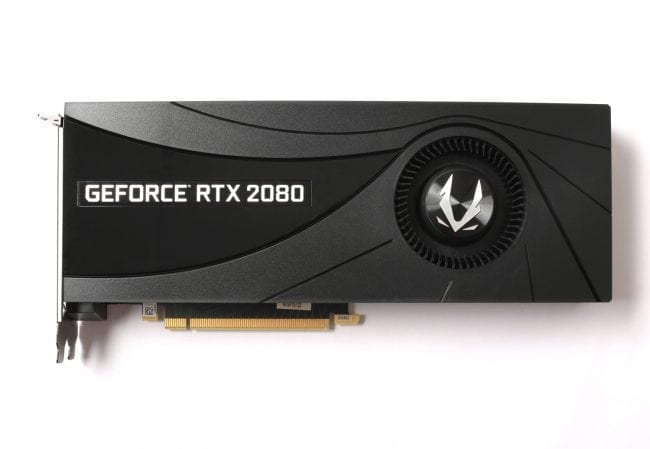 GeForce 2080 Is Here! ZOTAC Gaming Releases GeForce RTX 20