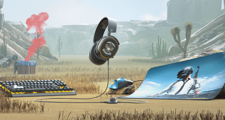 SteelSeries Launches PUBG Branded Perhipherals