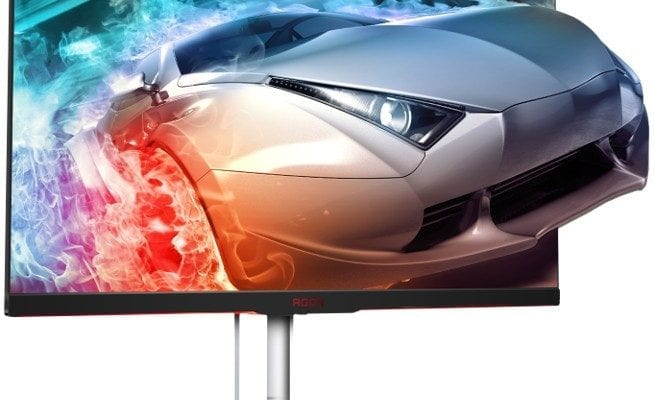 AOC AG332QC4 HDR Gaming Monitor with FreeSync2