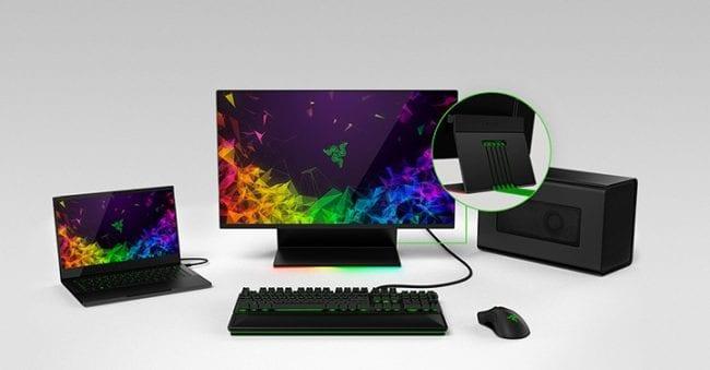 CES 2019 - Razer Enters Gaming Monitor Arena with Razer Raptor