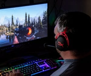 HyperX Cloud Alpha Gaming Headset in Action