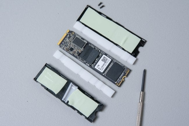 Asura Genesis Xtreme 1TB SSD - In Pieces