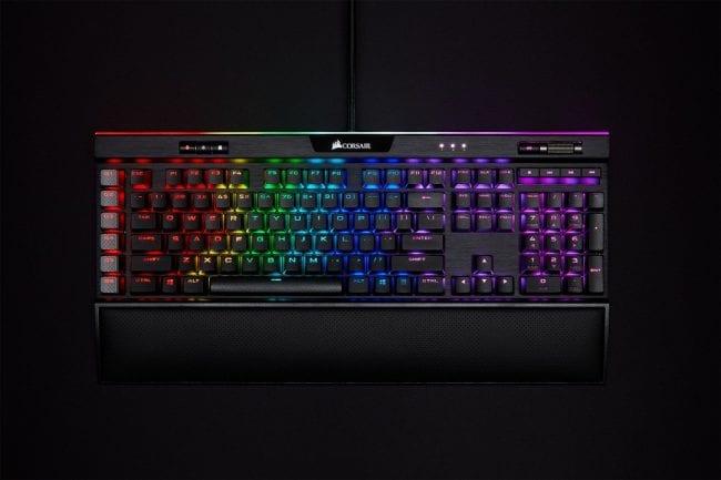 CES 2020: Corsair K95 RGB PLATINUM XT mechanical gaming keyboard
