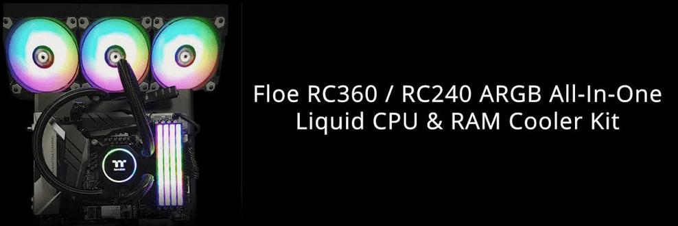Thermaltake Flow RC360 AIO Liquid Cooler