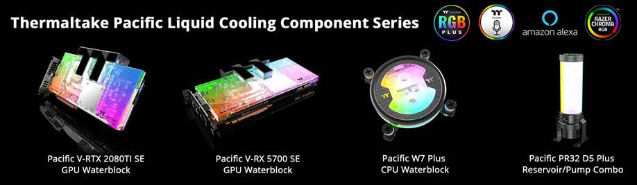 Thermaltake Pacific Liquid Cooling Components