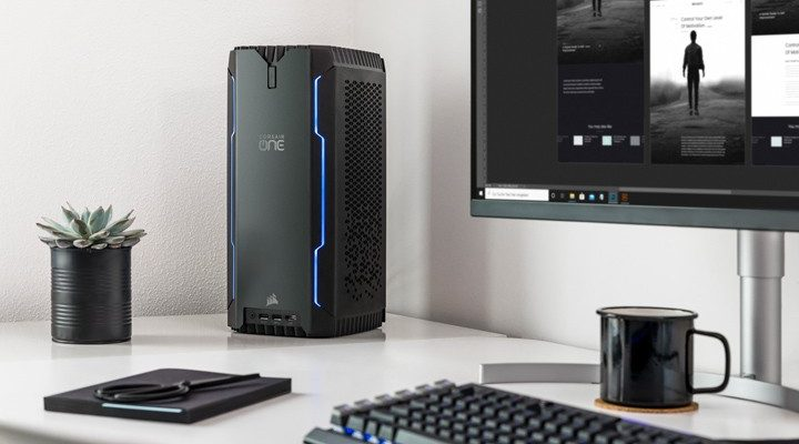 CORSAIR ONE a100 Compact Gaming PC