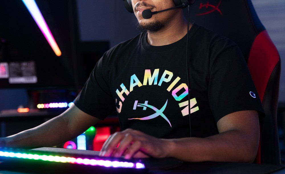HyperX and Champion Athleticwear Announce Reflective Collection