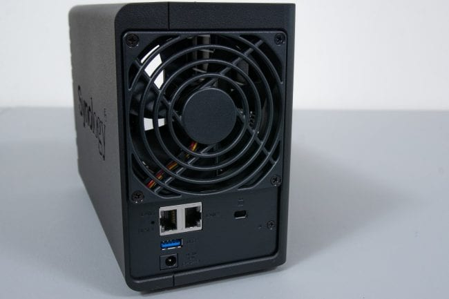 Synology DS220+ Rear
