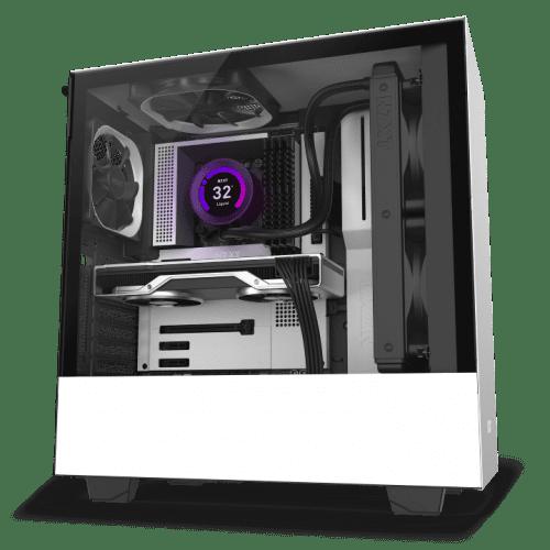 NZXT N7 Z490 Inside Case